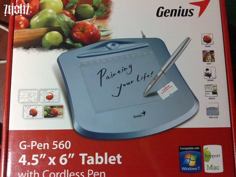 Genius g pen 560 инструкция